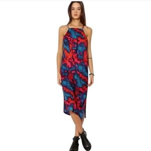 URBAN OUTFITTERS   SILENCE + NOISE midi dress